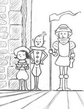 La vie rêvée d'un Roi crayonné extrait.jpg